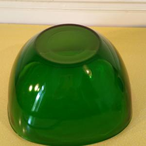 4 saladier pirex vert