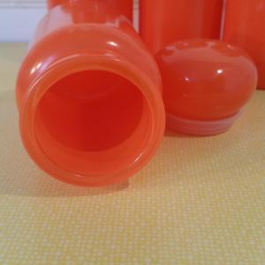 4 serie de pots orange
