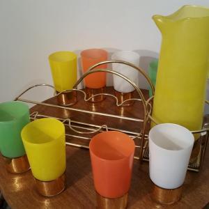 4 service a orangeade 8 verres