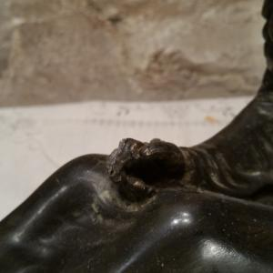 4 statue femme art deco