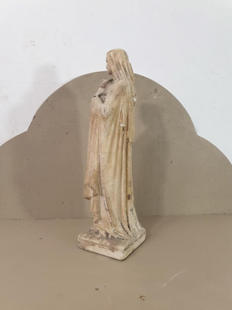 4 statue vierge marie poly