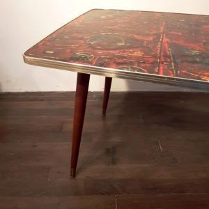 4 table basse en formica