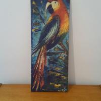 4 tableau perroquet