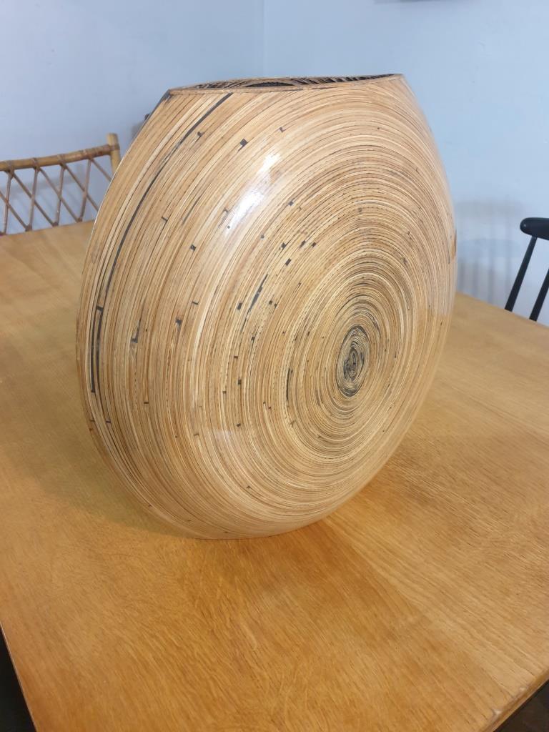 4 vase en bambou