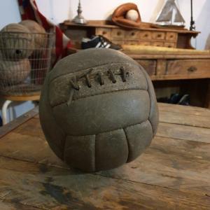 5 ballon cuir avec lacet