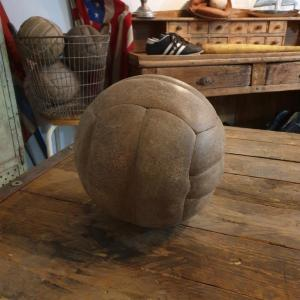5 ballon de foot en cuir