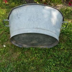 5 bassine en zinc