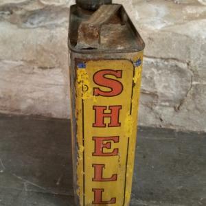 5 bidon huile shell moteurs
