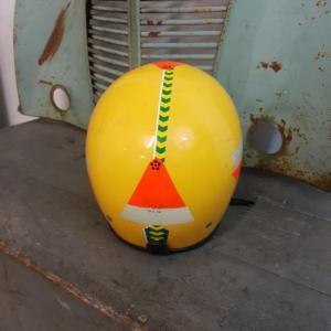 5 casque jaune jumbo helmet