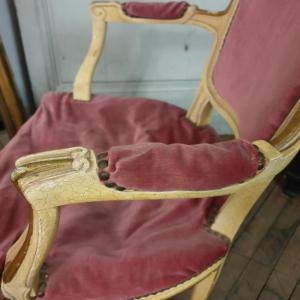 5 fauteuil louis xv