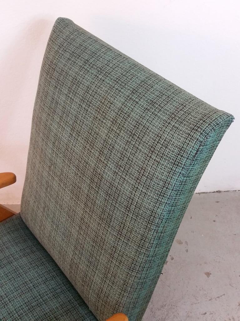 5 fauteuil scandinave vert