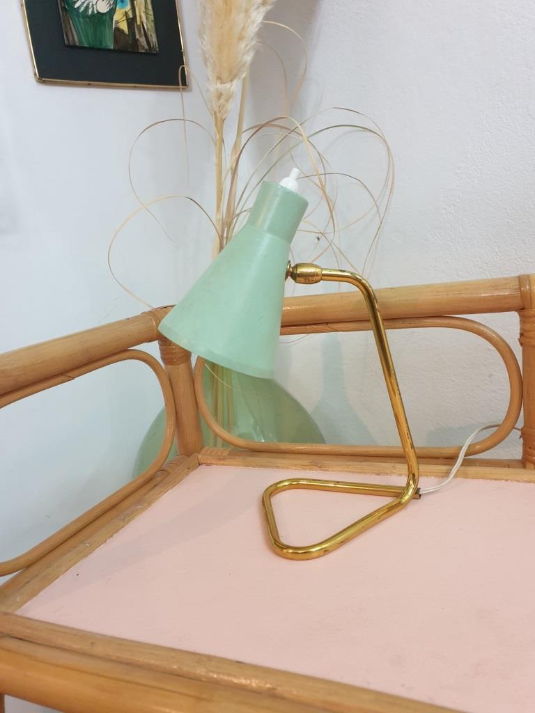 5 lampe cocotte verte pastel