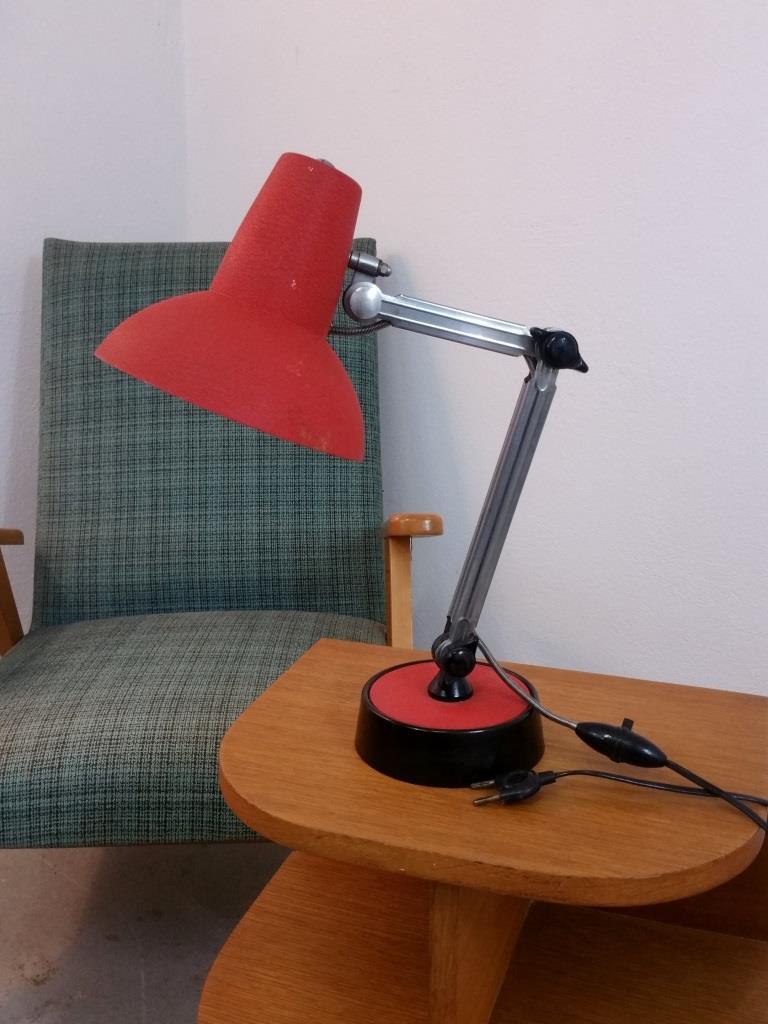 5 lampe de bureau chrome