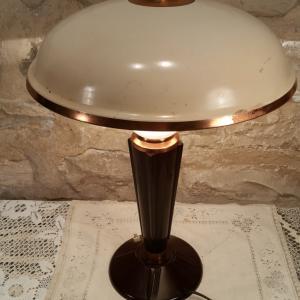 5 lampe jumo art deco