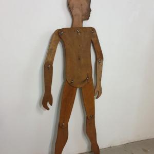 5 mannequin en bois