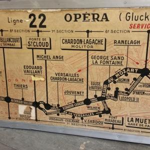 5 plan de ligne de bus de paris