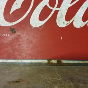 5 plaque coca cola