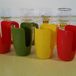 5 porte verre esso