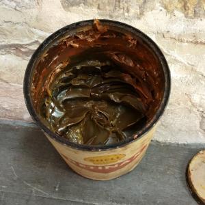 5 pot de graisse shell