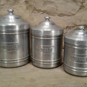 5 serie de pots alu
