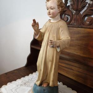 5 statue religieuse enfant