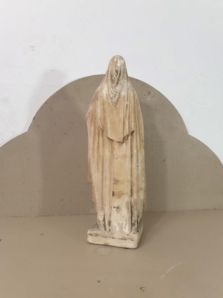 5 statue vierge marie poly