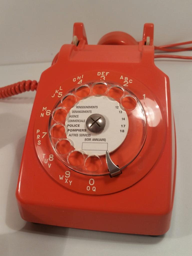 5 telephone socotel orange