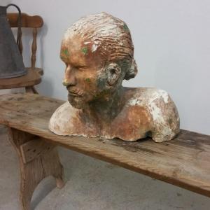 5 tete d homme sculpture