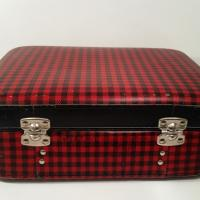 5 valise ecossaise rouge