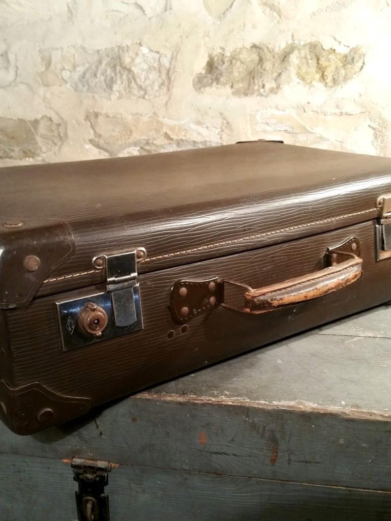 5 valise marron