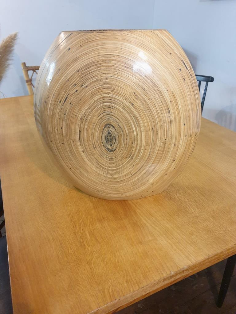 5 vase en bambou