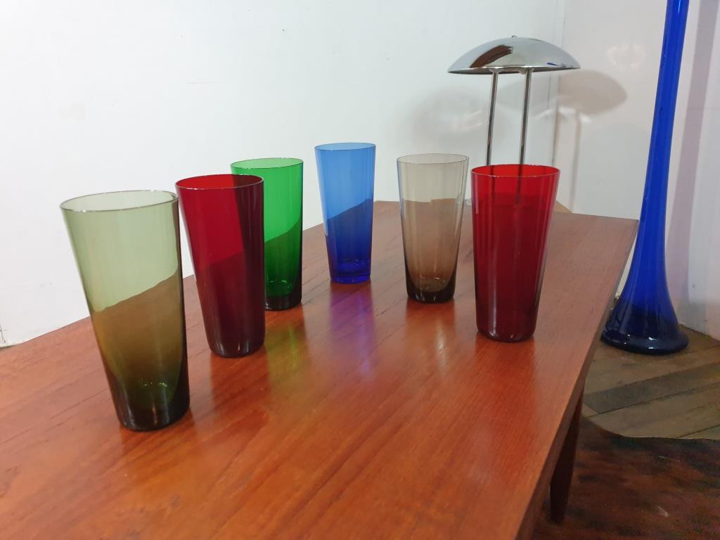 5 verres fins 70s