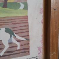 6 affiche cour d ecole chasse