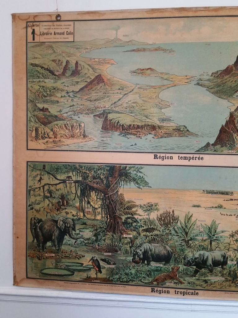 6 affiche scolaire geographie