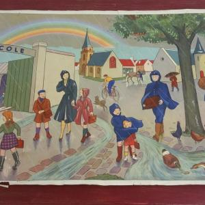6 affiche scolaire rossignol cirque et averse