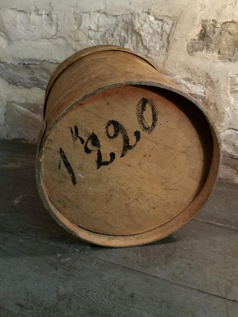 6 boite ronde en bois