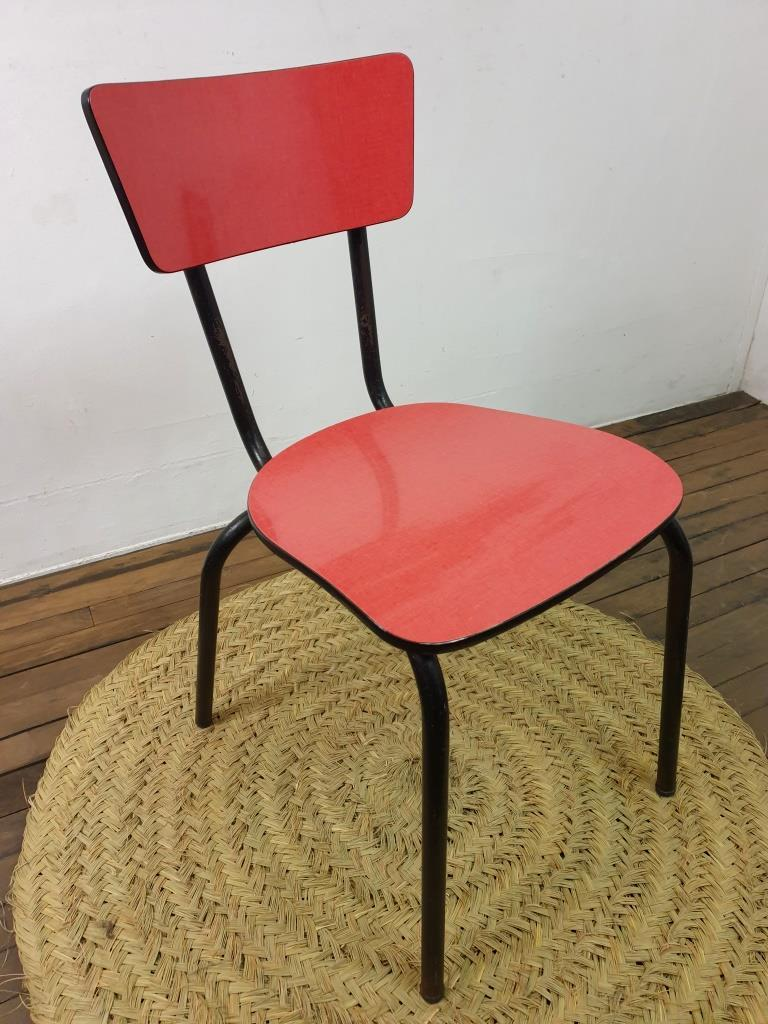 6 chaise en formica