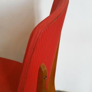 6 chaise rouge