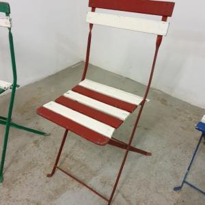 6 chaises de guinguettes 1