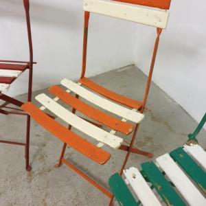 6 chaises de guinguettes
