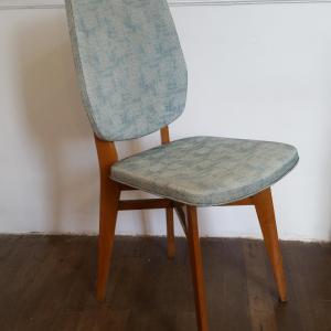 6 chaises vertes 60 s
