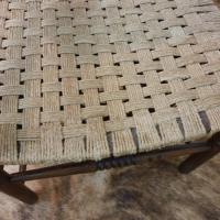 6 fauteuil bois corde