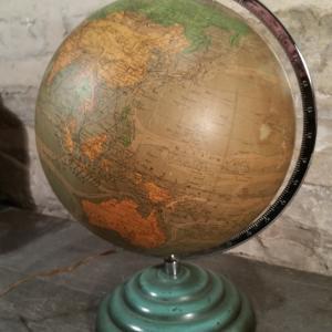 6 globe terrestre lumineux perrina
