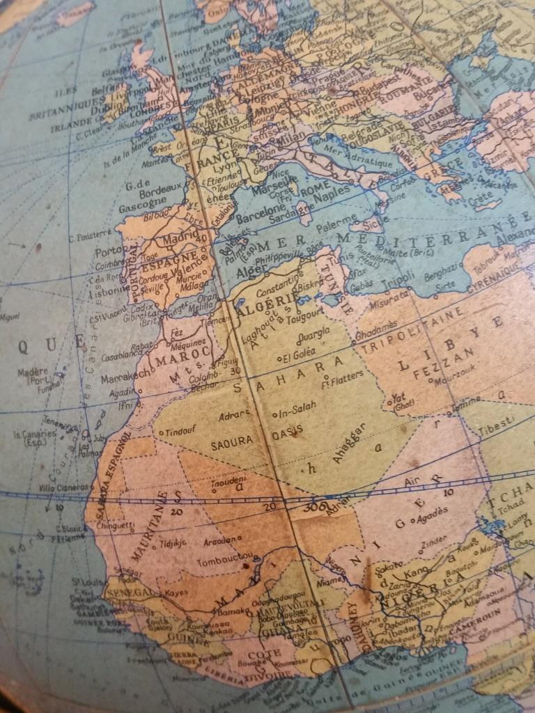 6 globe terrestre taride