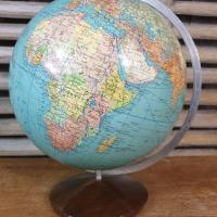 6 globe terrestre