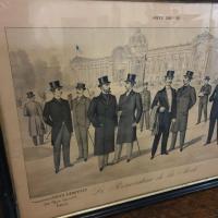 6 grand tableau le renovateur de la mode 1899
