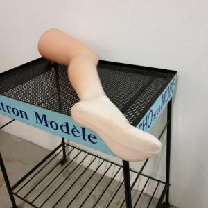6 jambe presentoire bas