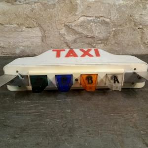 6 lampe taxi