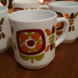 6 petites tasses a moka mobil