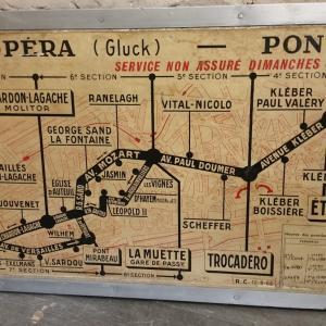 6 plan de ligne de bus de paris